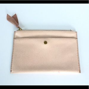 J. Crew leather Small Clutch